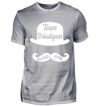 Team Bräutigam lustiges jga design