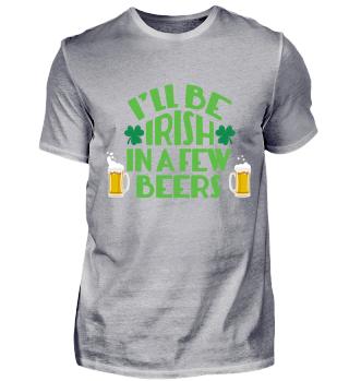 Ich werde in ein paar Bieren irisch sein