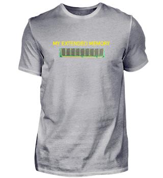 T-Shirt RAM / Speicher / extended memory