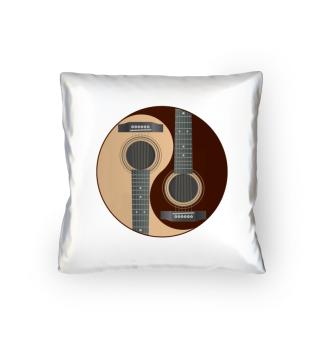 Gitarre - Silberne Kette