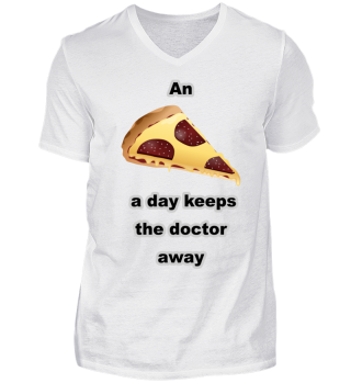 An pizza a day keeps the doctor away