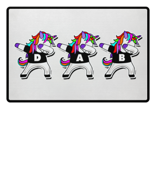 Dabbing Unicorns - Dancing Figure DAB 2a