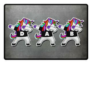 Dabbing Unicorns - Dancing Figure DAB 2a