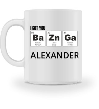 Chemical Elements - got BaZnGa - black 4