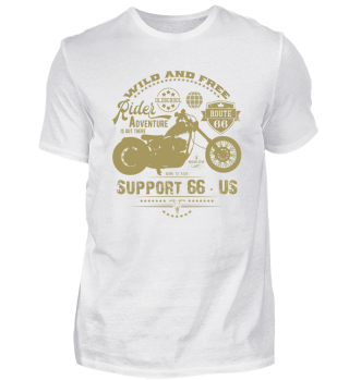 ☛ RiDER · SUPPORT 66 · US #1