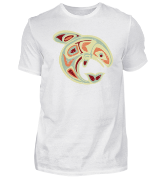 ★ Native American Totem Orca Whale 4
