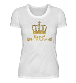 ♛ Royal Crown - Best Aunt Ever