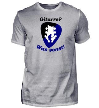 Das Shirt für Gitarristen