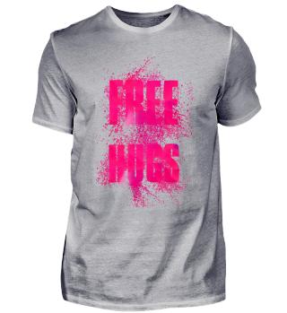 Free Hugs Word Art