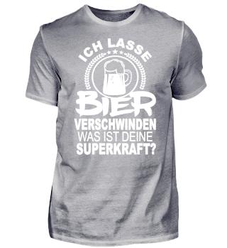 Bier Shirt - Ich Lass Bier verschwinden