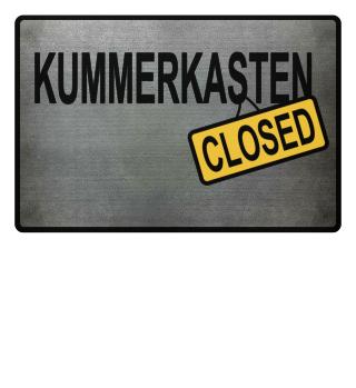 Kummerkasten - closed Fussmatte