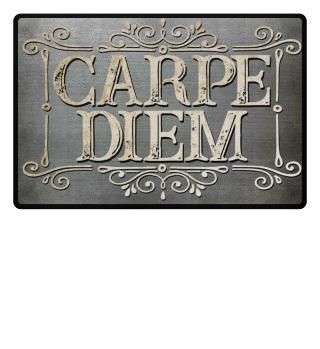 CARPE DIEM - vintage frame Fußmatte 2