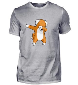Cute Dabbing Dancing tanzender Welpe Hund
