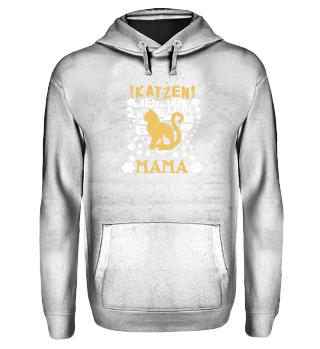 Katzen Mama Hoodie/Shirt