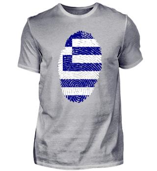 Fingerabdruck - Griechenland