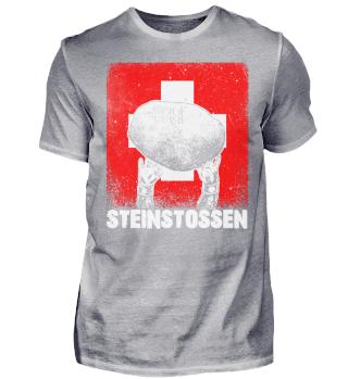 Schweiz Steinwerfen Steinstossen