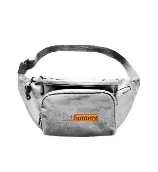 Shoulderbag mit Logo-Stick