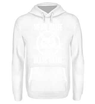 Katzen Shirt-Death Metal