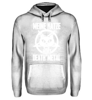 Katzen Shirt-Death Metal