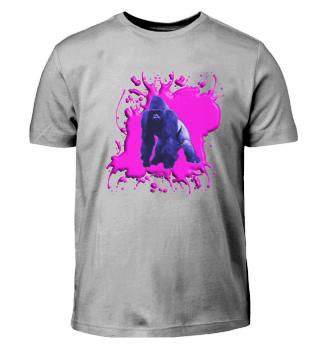 Gorilla Blau und Pink - Kinder