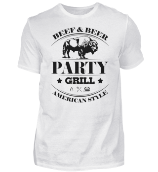 ☛ Partygrill · American Style #3S