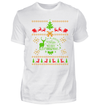 UGLY CHRISTMAS DESIGN - STRICKMUSTER #7.21