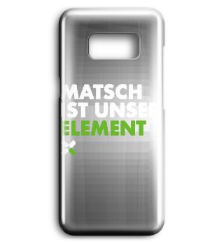 Matsch ist unser Element Handyhülle