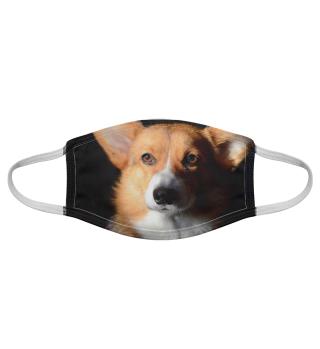 Gesichtsmaske mit Hundemotiv 20.13