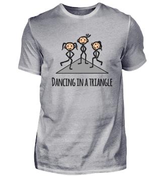 Tanzen Dancing In A Triangel