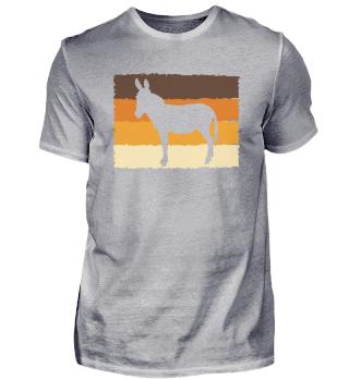 Retro Esel   Maultier Muli Donkey Pferde