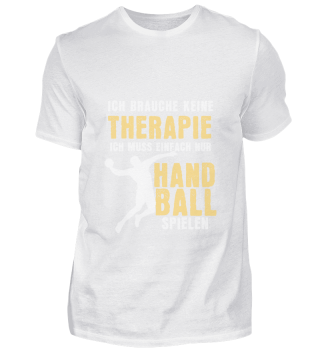 No therapy but playing handball playing