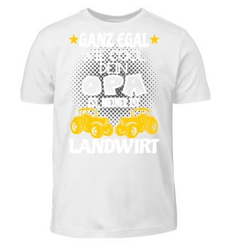 Kinder Shirts - Opa Landwirt