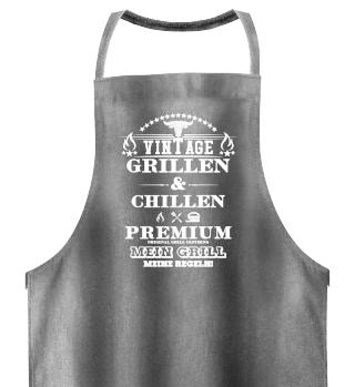 ☛ Mein Grill · Meine Regeln · Premium #1W