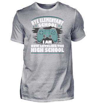 Bye Elementary School Leveling High Scho