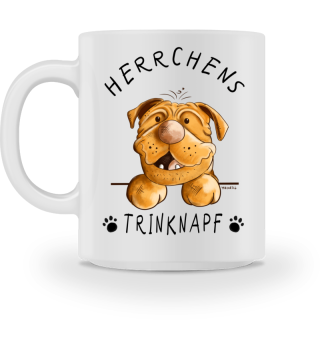 Herrchens Trinknapf Bordeauxdogge Tasse