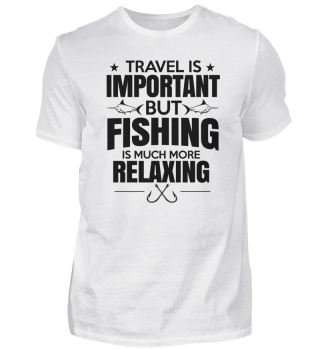 Fishing is much more relaxing