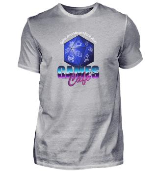 Games Cafe Weiden (Einfaches Shirt)