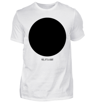 YES ITS A DOT - funny black