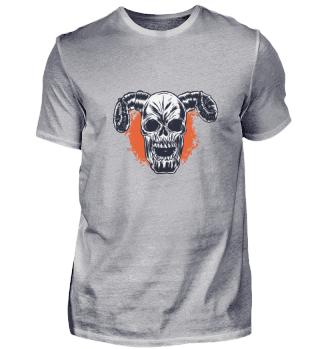 Horned Skull Demon