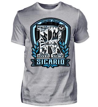 Herren Kurzarm T-Shirt Sicario Time Ramirez
