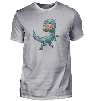 Space Raptor Velociraptor Astronaut Dino