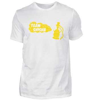 Team Shisha Shirt - Geschenkidee
