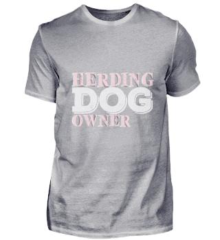 Hütehund Besitzer | Schriftzug Herde