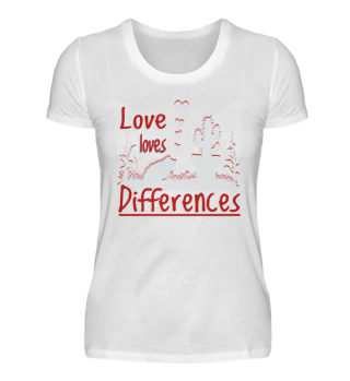 UK Love loves Differences - Fun Gift
