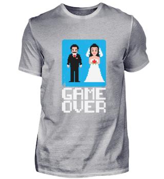 Game over Hochzeit JGA Geschenk