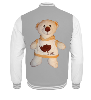 Kinder-Collegejacke Teddy
