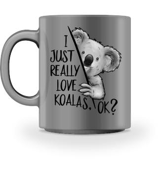 Ich liebe Koalas Ok? Koalabär Zeichnung