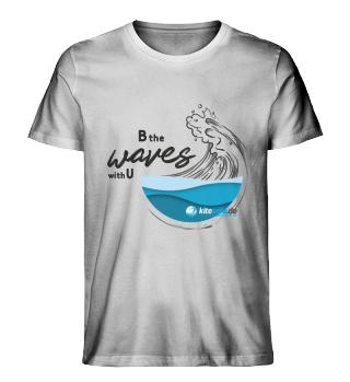 kitesafe.de Herren Premiumshirt Wave bl