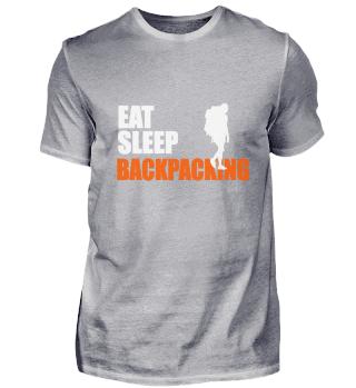 EAT. SLEEP. BACKPACKING. REPEAT.