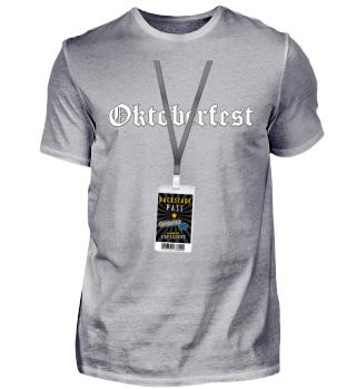 Backstage Pass Oktoberfest VIP Shirt